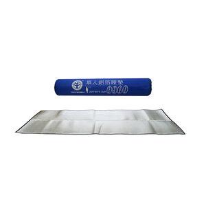Single aluminum foil sleeping pad