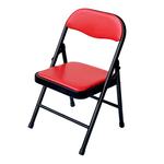巧巧兒童折合椅, 紅色, large