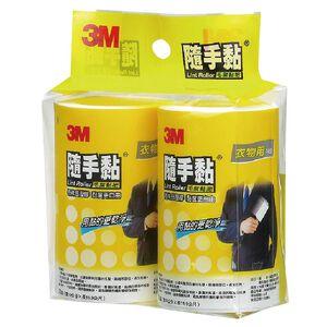 3M隨手黏毛絮黏把補充包衣物用