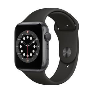 AppleWatch S6 GPS 44mm-M00H3TA/A(太空灰色鋁金屬錶殼/黑色運動型錶帶)