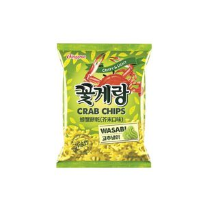 Binggrae Crab Chips-Wasabi