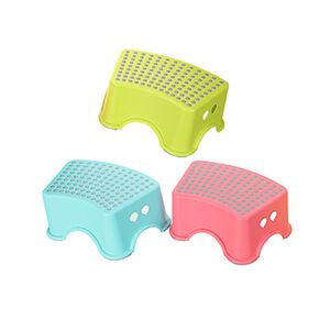 馬卡龍繽紛色小圓點止滑椅-顏色隨機出貨