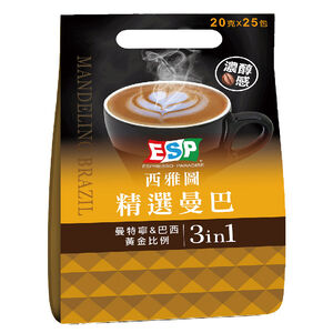 ESP Mandeling Brazil style coffee 3in1
