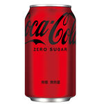 Coke Zero 330ml Can, , large