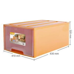 Tangerine Drawer Box(XL)-65L