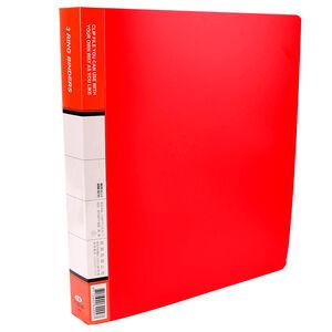 D型P.P三孔文件夾-顏色隨機出貨