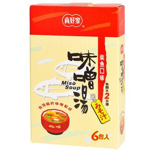 真好家柴魚味噌湯7.5g*6