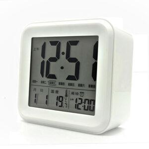 TW-8830 LCD多功能顯示鬧鐘(方型)