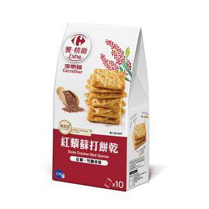 家樂福紅藜蘇打餅乾170g