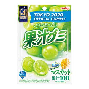 明治果汁QQ軟糖-白葡萄口味51g