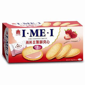 I-MEI SANDWICH BISCUIT (STRAWBERRY)