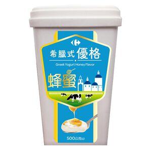 家樂福希臘式優格(蜂蜜)500g到貨效期約6-8天