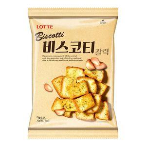 韓國樂天大蒜麵包餅-70g