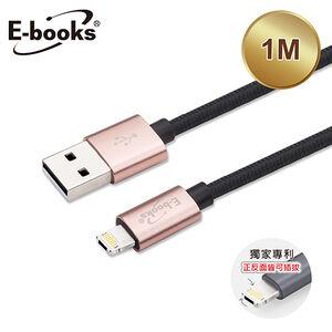 E-books X64 鋁殼編織線-AL-1M