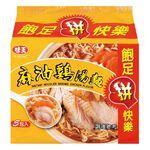 味王麻油雞湯麵(包) 90g, , large