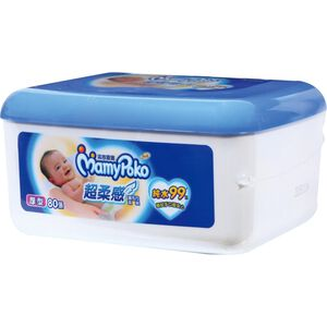 Mamy Poko Wet Towel Pure Thick Box