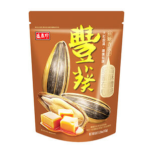 盛香珍豐葵香瓜子(焦糖口味)150g