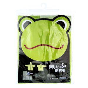 動物系列兒童雨衣-青蛙綠 S