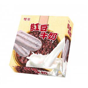 雙葉冰棒-紅豆牛奶-70gx5