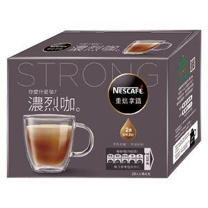 雀巢咖啡二合一好咖系列重焙拿鐵18gX20入