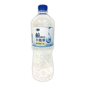家樂福鹼性離子水850ml
