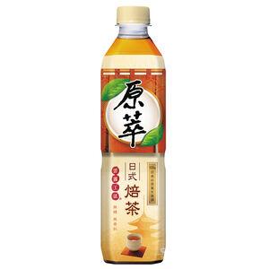 Real Leaf Japanese Hojicha 580ml
