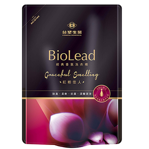 BioLead Laundry detergent bottle