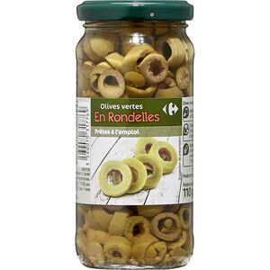 C-Sliced green olive