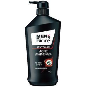 Mens Biore Body Foam Acne