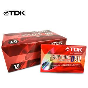TDK D90分鐘空白錄音帶