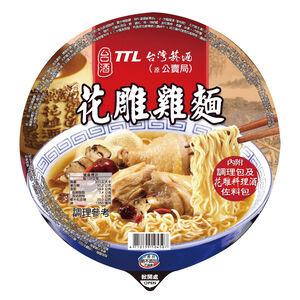 台酒花雕雞麵(碗)200gx12