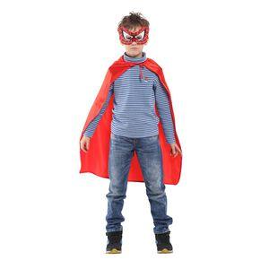 30吋蜘蛛小超人眼罩披風組