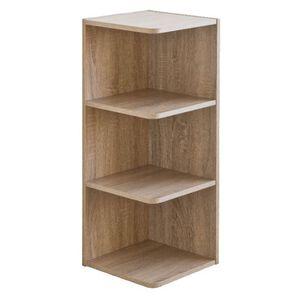 E1 three-tier corner cabinet