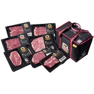 CAB冷藏美國安格斯牛肉-老饕最愛7入組(含保冷袋)