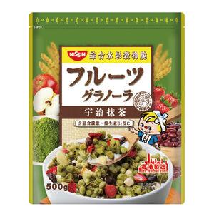 日清宇治抹茶綜合水果穀物脆-500g