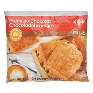 家樂福冷凍巧克力麵包