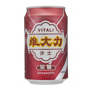 維大力加鹽沙士Can330 ml