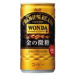 Asahi Wonda 金的微糖咖啡 CAN182ml, , large