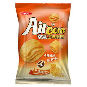 HwaYuan AirCorn Corn Shortbread cheese
