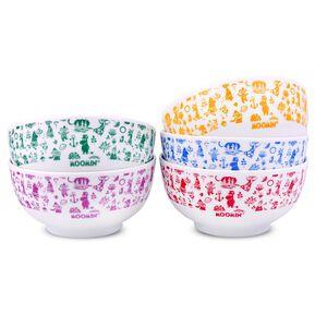 MOOMIN陶瓷碗組 5入