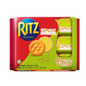 麗滋檸檬餅乾隨手包243g(27gx9)