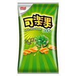 Pea Crackers-Basil Flavor, , large