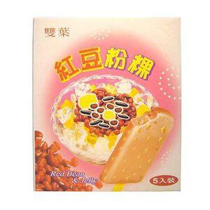 雙葉冰棒-紅豆粉粿-67gx5