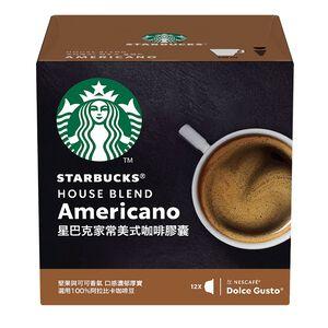 星巴克家常美式咖啡膠囊8.5x12