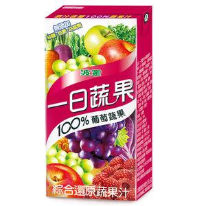一日蔬果100葡萄蔬果汁 160ml