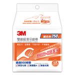 3M雙線細滑牙線棒補充包-250支, , large