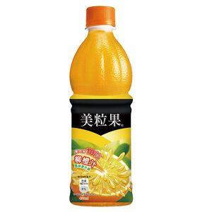 美粒果柳橙汁450mlPet