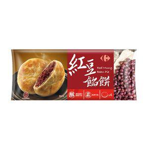 家樂福紅豆餡餅(全素)100gx4
