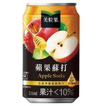 MM Apple Soda Can 330ml, , large