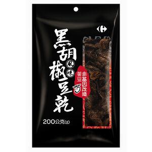C-Black Pepper Flavor Non GMO Bean Curd